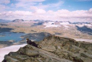Utsiktsbilde fra Fanaråken
